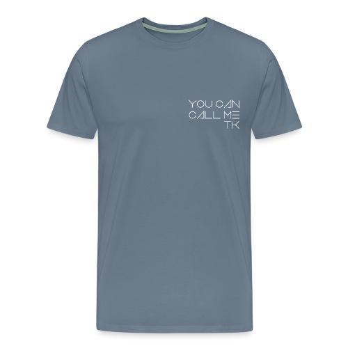 tk right white png - Men's Premium T-Shirt
