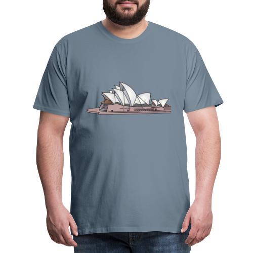 Opernhaus in Sydney, Australien c - Männer Premium T-Shirt