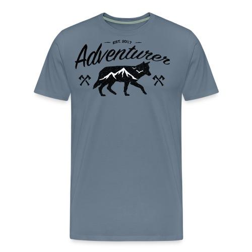 Adventurer Original - Premium T-skjorte for menn