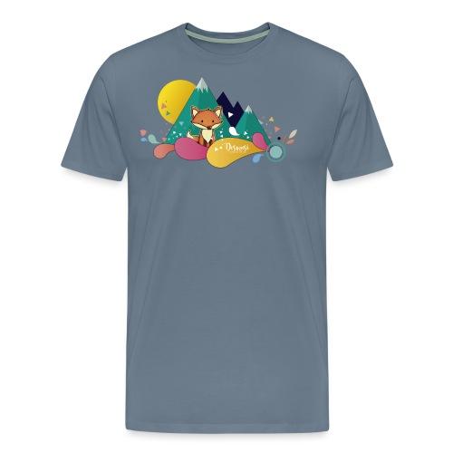 Ilustración Zorrito - Camiseta premium hombre
