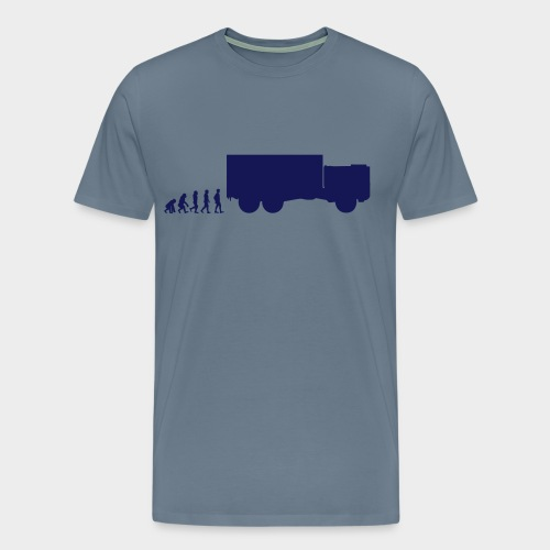 Evolution Man KAT 6x6 - Männer Premium T-Shirt