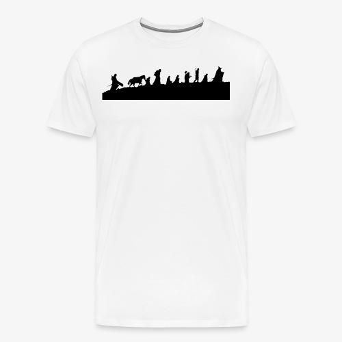The Fellowship of the Ring - Men's Premium T-Shirt