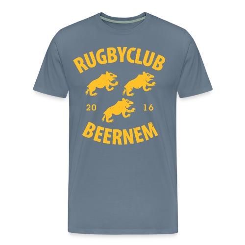 vintage RC Beernem logo - Mannen Premium T-shirt