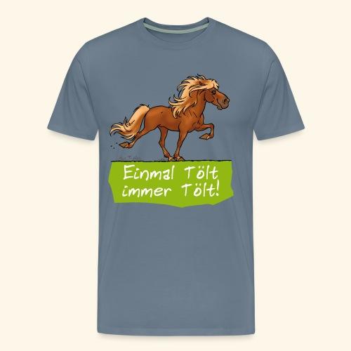 Island Pferd Tölt - T-shirt Premium Homme