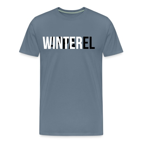Winter Apparel Logo - Herre premium T-shirt