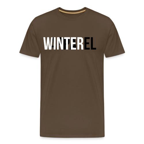 Winter Apparel Logo - Herre premium T-shirt