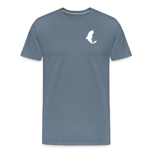 bare fisk - Premium T-skjorte for menn