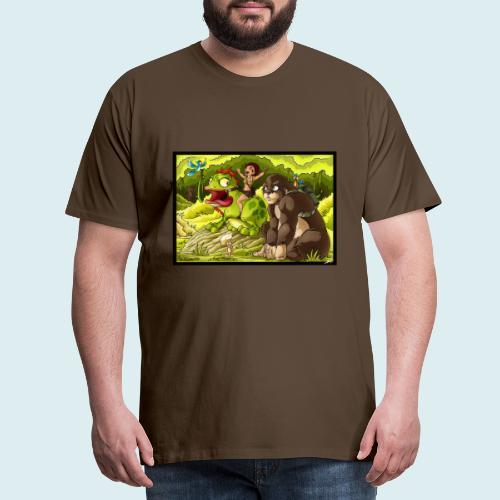 jungle - Maglietta Premium da uomo