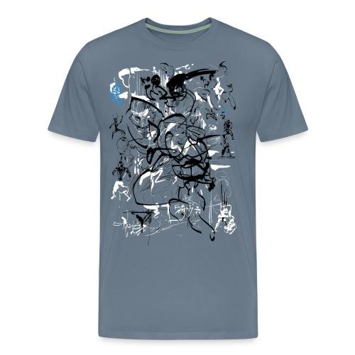 art of shaolin - Men's Premium T-Shirt