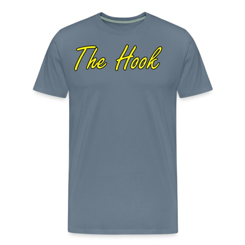 The Hook Logo - Premium-T-shirt herr