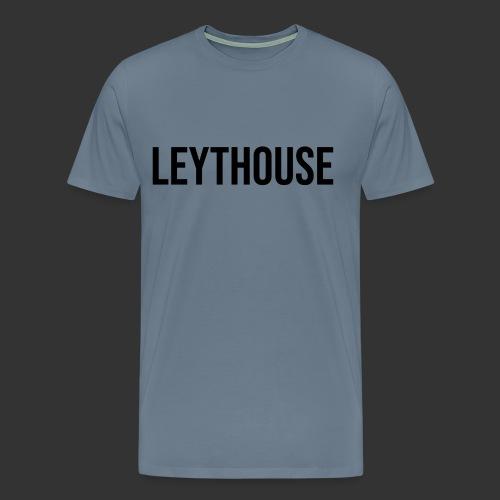 LEYTHOUSE main logo black - Men's Premium T-Shirt