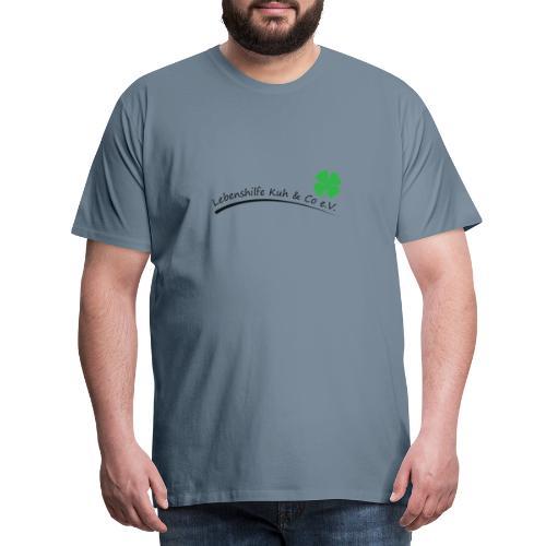 Logo Lebenshilfe Kuh Co png - Männer Premium T-Shirt