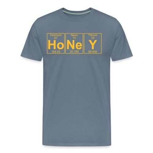 Ho-Ne-Y (honey) - Full - Men's Premium T-Shirt
