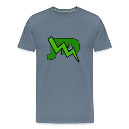 JD LOGO - Mannen Premium T-shirt