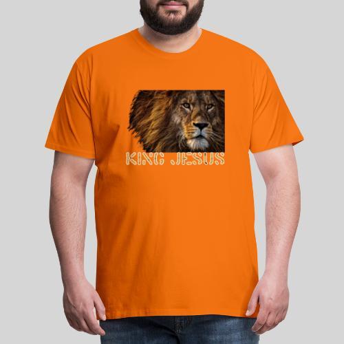 König Jesus der Löwe von Juda - Männer Premium T-Shirt