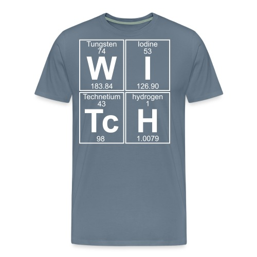W-I-Tc-H (witch) - Men's Premium T-Shirt