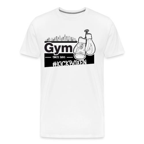 Gym in Druckfarbe schwarz - Männer Premium T-Shirt