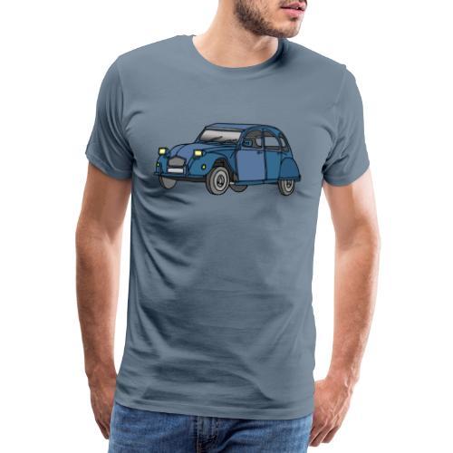 Blaue Ente 2CV - Männer Premium T-Shirt