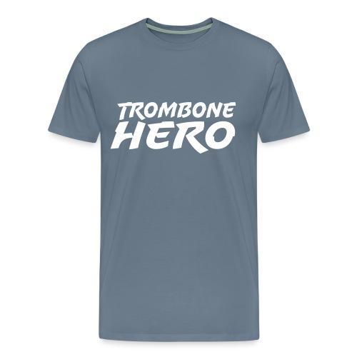 Trombone Hero - Premium T-skjorte for menn