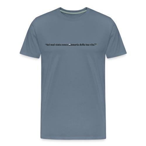 frase_8 - Maglietta Premium da uomo