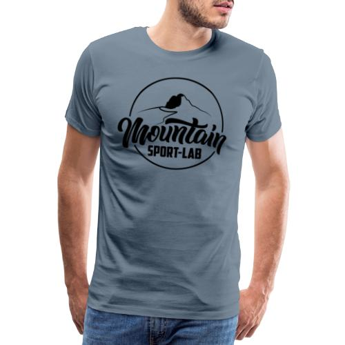 NOIR MOUNTAINSPORTLABgrand - T-shirt Premium Homme