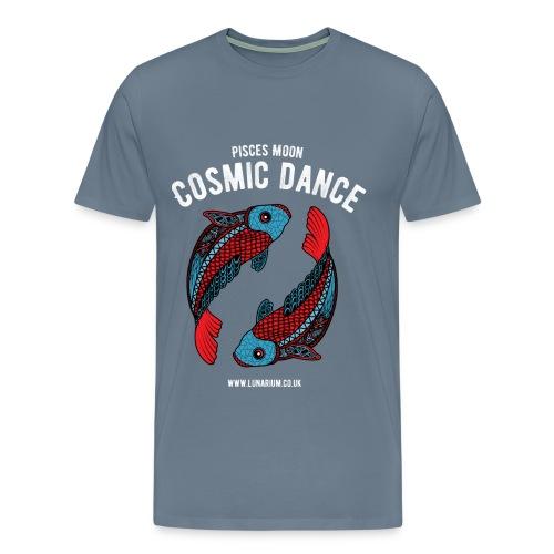 Pisces Moon Dark - Men's Premium T-Shirt