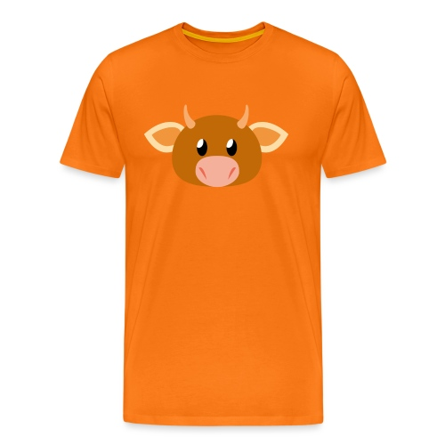 Kuh »Mili« - Men's Premium T-Shirt