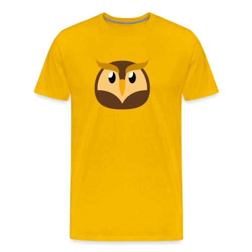 Eule »Schuhu« - Men's Premium T-Shirt