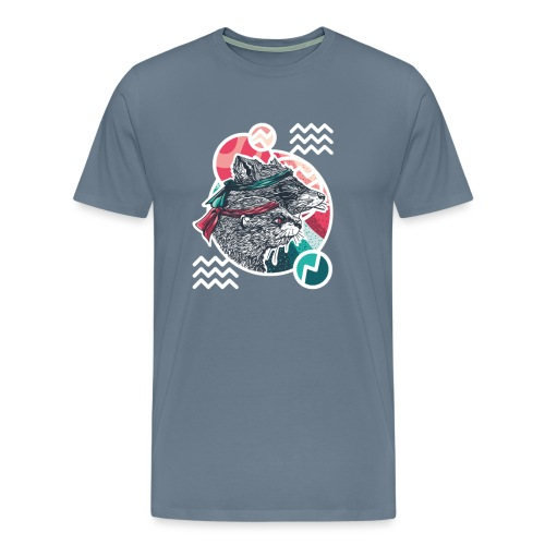 Wischwaschbär & AimbOTTER - Männer Premium T-Shirt