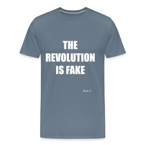 REVOLUTION FAKE - Men's Premium T-Shirt