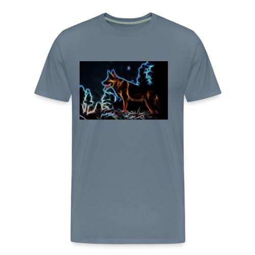 German shepherd - Premium-T-shirt herr