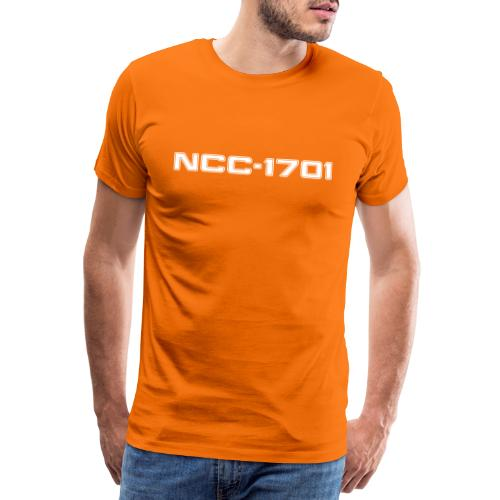 NCC-1701 White - Men's Premium T-Shirt