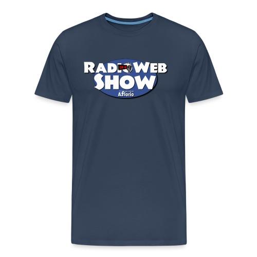 Logo RadioWebShow - Maglietta Premium da uomo