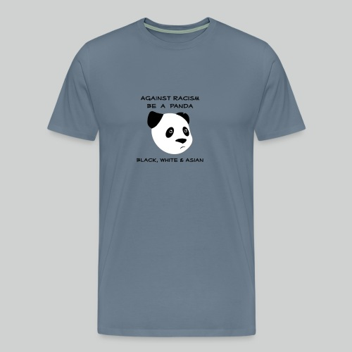 Against Racism Panda - Männer Premium T-Shirt