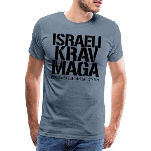 Israeli Krav Maga - Men's Premium T-Shirt