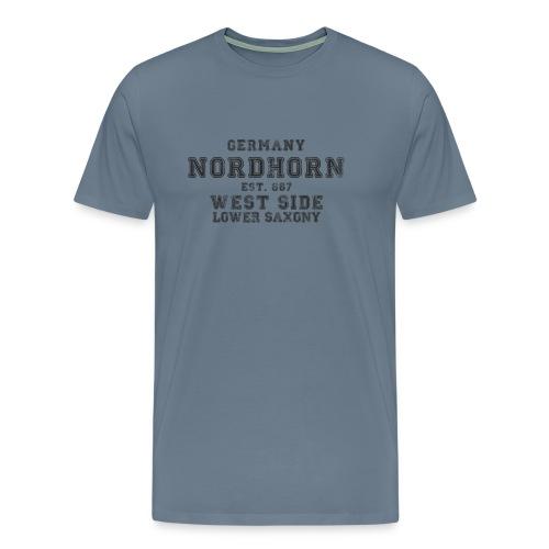 Nordhorn png - Männer Premium T-Shirt
