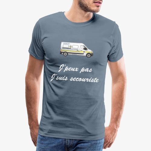 j'peux pas j'suis secouriste - T-shirt Premium Homme