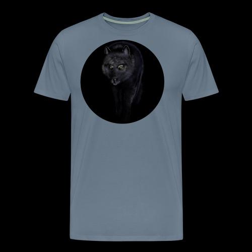 Black Wolf - Men's Premium T-Shirt