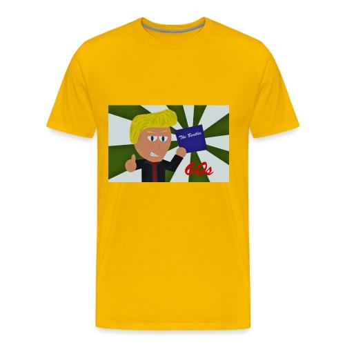 1960-luku - Miesten premium t-paita
