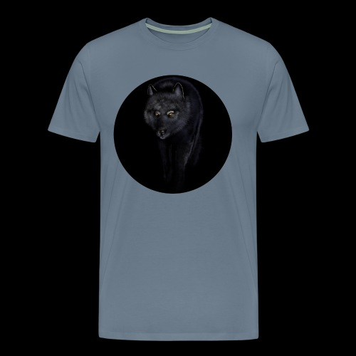 Black Wolf - Men's Premium T-Shirt