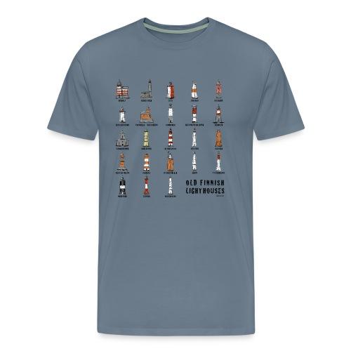 SUOMEN MAJAKKA Paidat, tekstiilit ja lahjatuotteet - Miesten premium t-paita