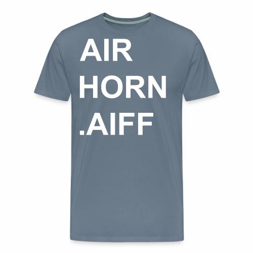 airhorn.aiff - Männer Premium T-Shirt