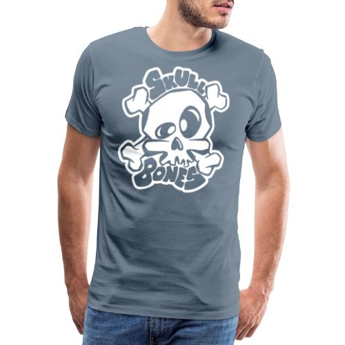 Skull and Bones - Premium-T-shirt herr