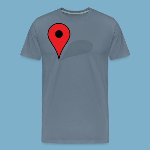 Mein Standort - Männer Premium T-Shirt