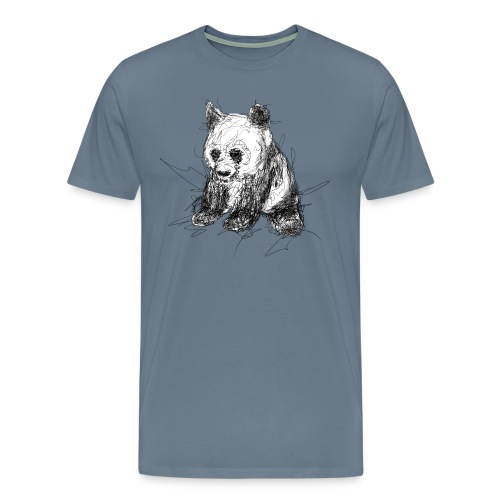 Scribblepanda - Men's Premium T-Shirt