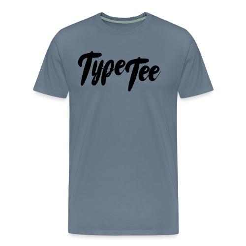 type tee logo13 - Mannen Premium T-shirt