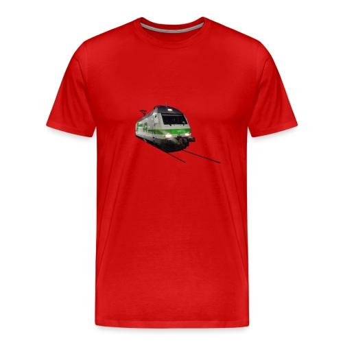 VR_juna_veturinro3230 - Miesten premium t-paita