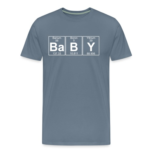 Ba-B-Y (baby) - Full - Men's Premium T-Shirt