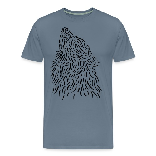 The Wolf - T-shirt Premium Homme