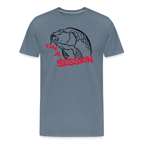 on a session12 - Männer Premium T-Shirt